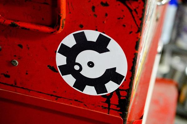 AR Bolt Face Sticker