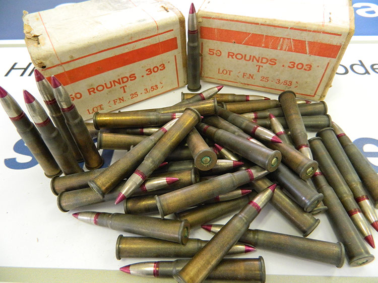 Surplus ammunition