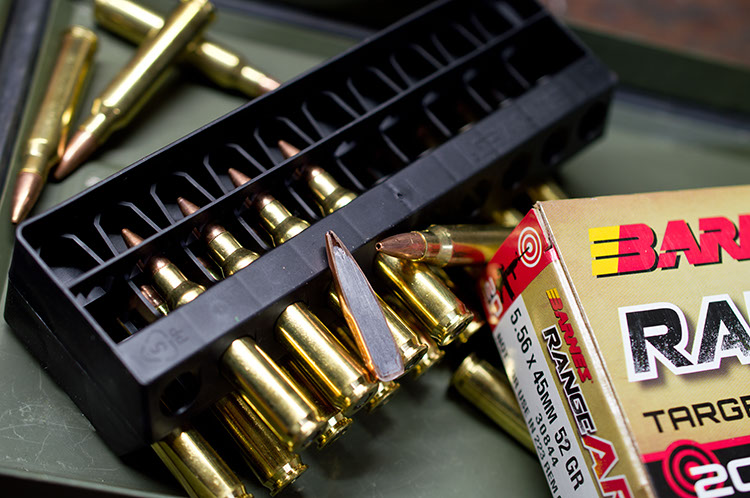 Open tipped match bullet