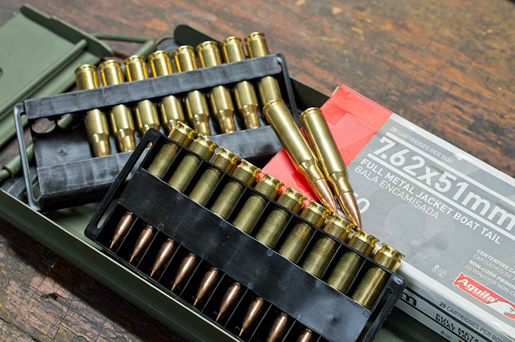 Full metal jacketed bullets