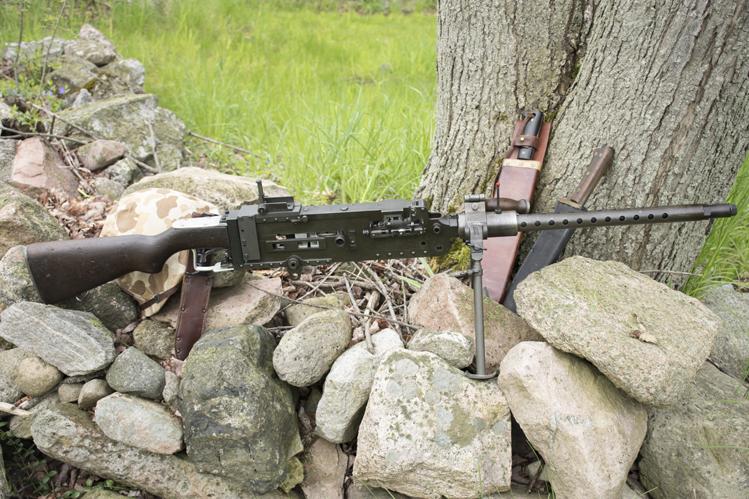 Stinger machine gun