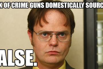 Domestically sourced guns