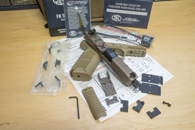 FN 509 disassembled
